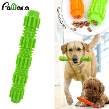 Pet Dog Toy TPR Bite-resistant Food Molar Stick Puzzle Training Bite Toy Can Put Snacks Dog Chew Toys For Small And Medium Breed 1