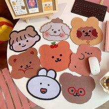 Lovely Kawaii Cute Bear Animal Mouse Pad Desk Waterproof Office Home Decoration Cup Mat Antislip