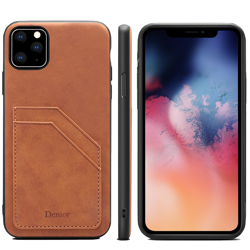Double Card Leather Case for iPhone 11/11 Pro/11 Pro Max 9