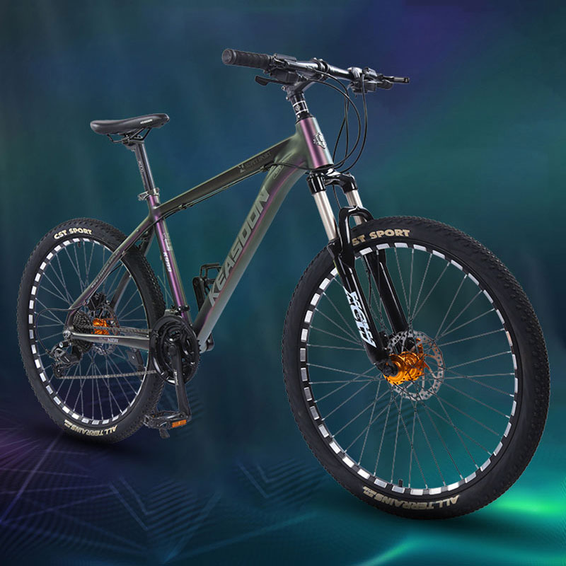 Mountain Bike Aluminum Alloy Shift 26 Inch 27 Speed Men And Women Lightweight Off Road Highway Shock Absorption Student Bicycle