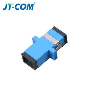 Image 4 - 500 sztuk Hot Adapter telekomunikacyjny złącza światłowodowego SC / UPC SM Kołnierz jednomodowy Simplex SC / APC Adapter złącza światłowodowego SC SC Łącznik Specjalna sprzedaż hurtowa do Brazylii