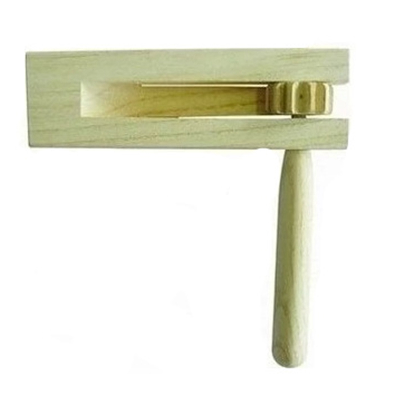 Wooden Spinning Ratchet Noise Maker Grogger Traditional Matraca For Parties Sports Events And Celebrations