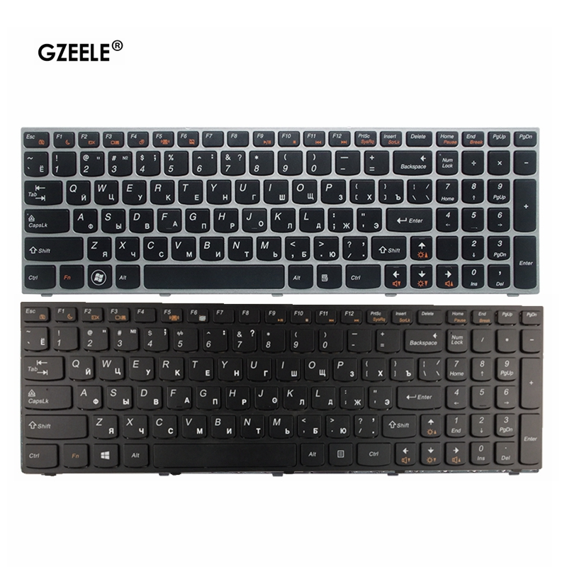 Russian RU FOR Lenovo B5400 M5400 M5400a B5400 B5400a Laptop Keyboard With Frame