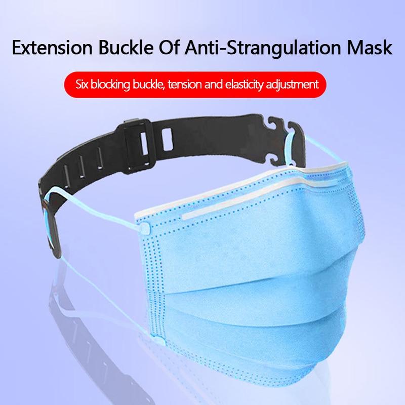 10/30pcs Face Mask Ear Hooks Extension Buckle Adjustable Earache Fixer Anti-Slip Mask Ear Grip Masks Buckle Sujeta Mascarillas
