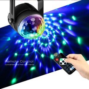 Image 2 - RGB LED para fiesta, luz de discoteca de efecto, lámpara láser de escenario, proyector RGB, lámpara de escenario, música, KTV, festival, Fiesta, lámpara LED, luz de dj
