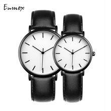Enmex крутые стильные парные наручные часы короткие модные простые