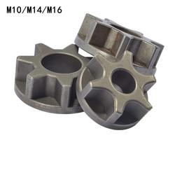 M10/M14/M16 Шестерня бензопилы для 100 115 125 150 180 сменная Шестерня различные угловые шлифовальные станки кронштейн бензопилы деревообрабатывающий...