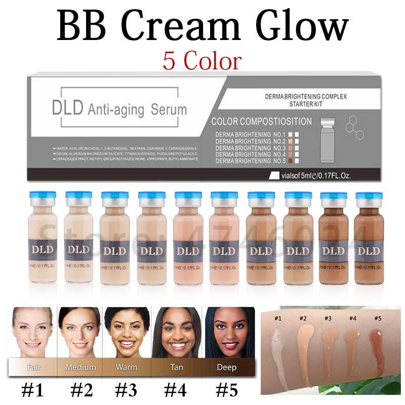 50 sztuk 5ml Serum wybielające krem bb Glow Meso rozjaśniający Serum krem bb fundacja Salon kosmetyczny kosmetyczny płyn do makijażu fundatio