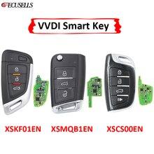 XHORSE uniwersalny pilot inteligentny klucz z funkcją zbliżeniową XSKF01EN XSMQB1EN XSCS00EN angielska wersja dla VVDI2 VVDI VVDI Mini