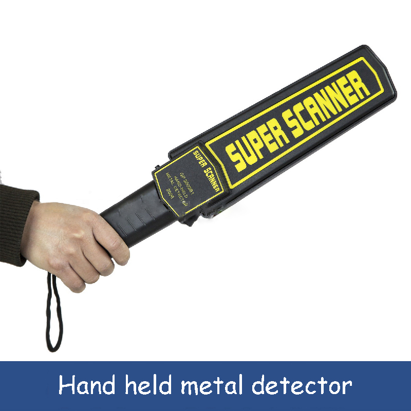 High Sensitivity Metal Detector Portable Handheld Security Super Scanner Tool Finder Electronic Measuring Body Search Tools