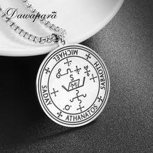 Dawapara – collier Talisman avec pendentif surnaturel Michael, l'ange le plus puissant de la Justice, compassion et Justice