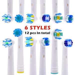 Toothbrush Heads Replacement Electric Precision Clean Oral-B Advance-Power/Pro Triumph/3d