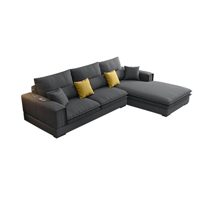 Modern Living Room Sofa L Shaped 4