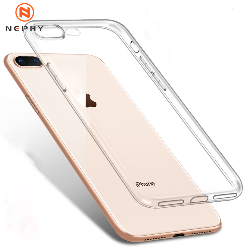 Ультратонкий Прозрачный чехол для телефона iPhone 11 12 Pro Max XS Max XR X, мягкий силиконовый чехол из ТПУ для iPhone 4 5 6 S 6 s 7 8 SE 2020, задняя крышка