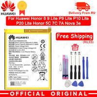 Batterie de téléphone d'origine Hua Wei HB366481ECW pour huawei honour 8 honour 8 lite honour 5C Ascend P9 huawei P10 P9 Lite G9 3000mAh