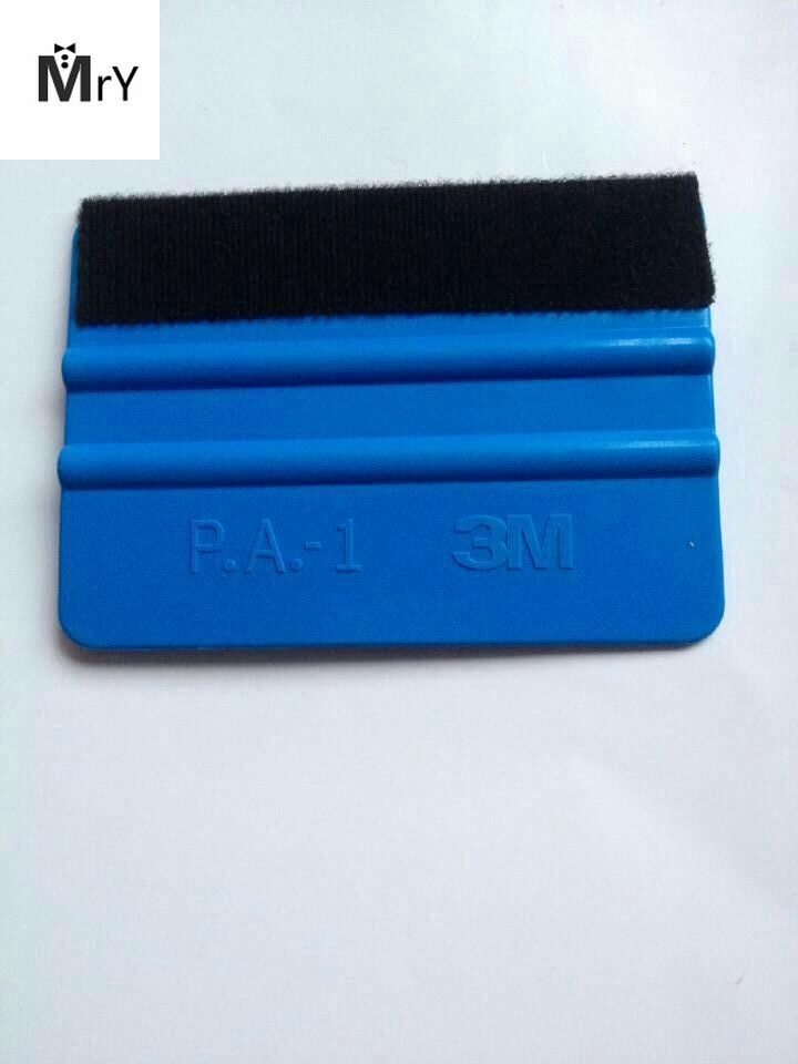 "4/"" P.A-1 Squeegee Vinyl Sheet Scraper Decals Car Wrapping Application Tools Blue"