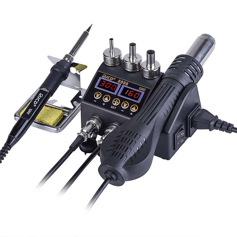 Welding BGA Soldering Tools Station 750W In JCD Display Welding 2 1 8898 SMD IC Station Rework LCD For Phone PCB Repair Tin