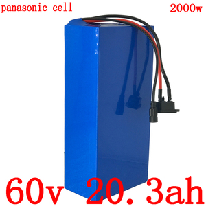 Free customs duty 60V 1500W 2000W lithium battery 60V 20AH scooter battery 60V 20AH electric bicycle battery use panason cell|Electric Bicycle Battery|   -