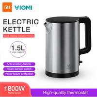 Xiaomi VIOMI Pro 1800W 1.5L Electric Kettle Intelligent Thermostat Anti-scalding Household 304 Stainless Steel Electric Kettle