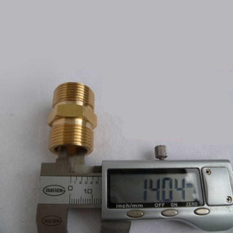 M22/14 Mm MALE M/M Adaptor Coupler Kekuatan Tekanan Mesin Cuci Pompa Air Hose