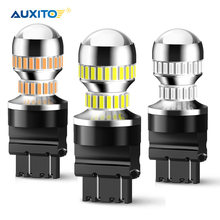 2 Pcs T25 P27/7W Led 3156 3157 P27/5W Auto Led Licht Richtingaanwijzer Lamp staart Remlicht Voor Ford Focus 2 3 1 Fiesta Mustang 2015-Up