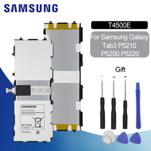 SAMSUNG Replacement Tablet Battery T4500E 6800mAh for Samsung Galaxy Tab3 P5200 P5210 P5220 Polymer Lithium Li-ion Battery +Tool mallper replacement 3 7v 1000mah li ion battery for samsung corby 2 s3850 s5530 more orange