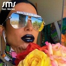 2020 Fashion Diamond Pilot Sunglasses Women Brand Vintage