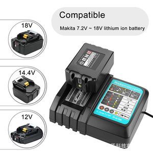 Newst charger for Makita Li-ion battery DC14SA DC18SC DC18RA DC18RD DC18RCT BL1830,BL1415 BL1420 BL1430 BL1840 BL1845 BL1850(China)
