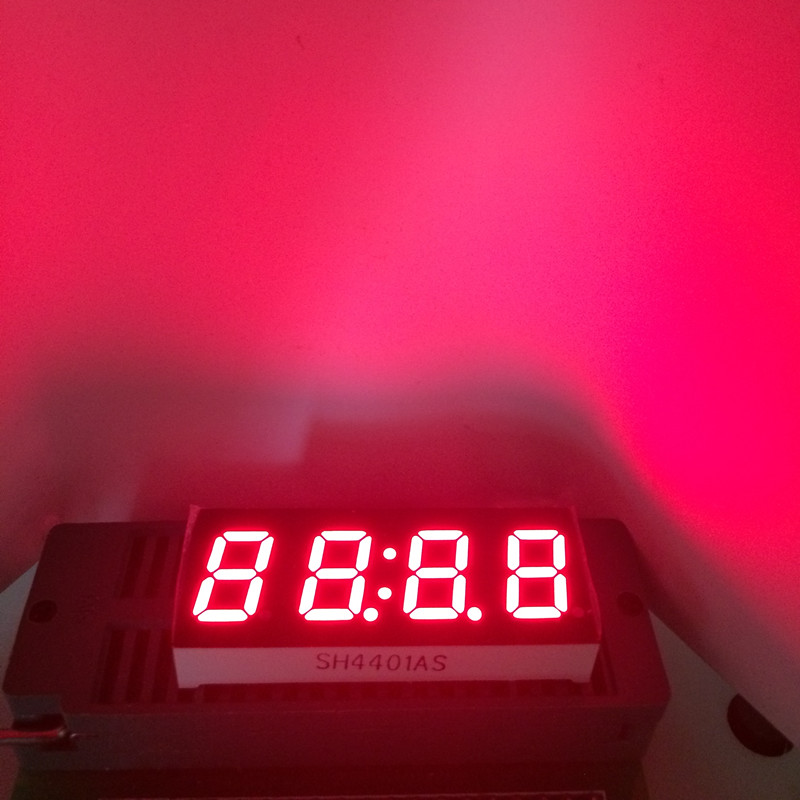 5pcs LED 7Segment Display 0.4 Inch Seven 7 Segmentos Clock Display 4 Digits 0.4
