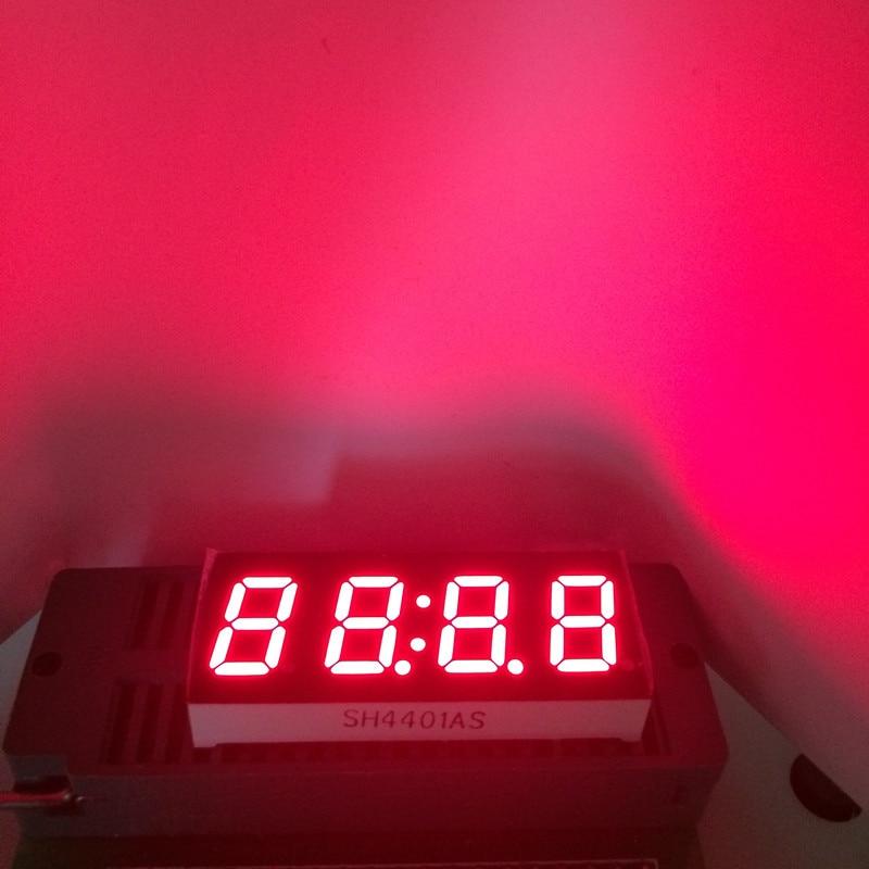 5pcs LED 7Segment Display 0.4 Inch Seven 7 Segmentos Clock Display 4 Digits 0.4