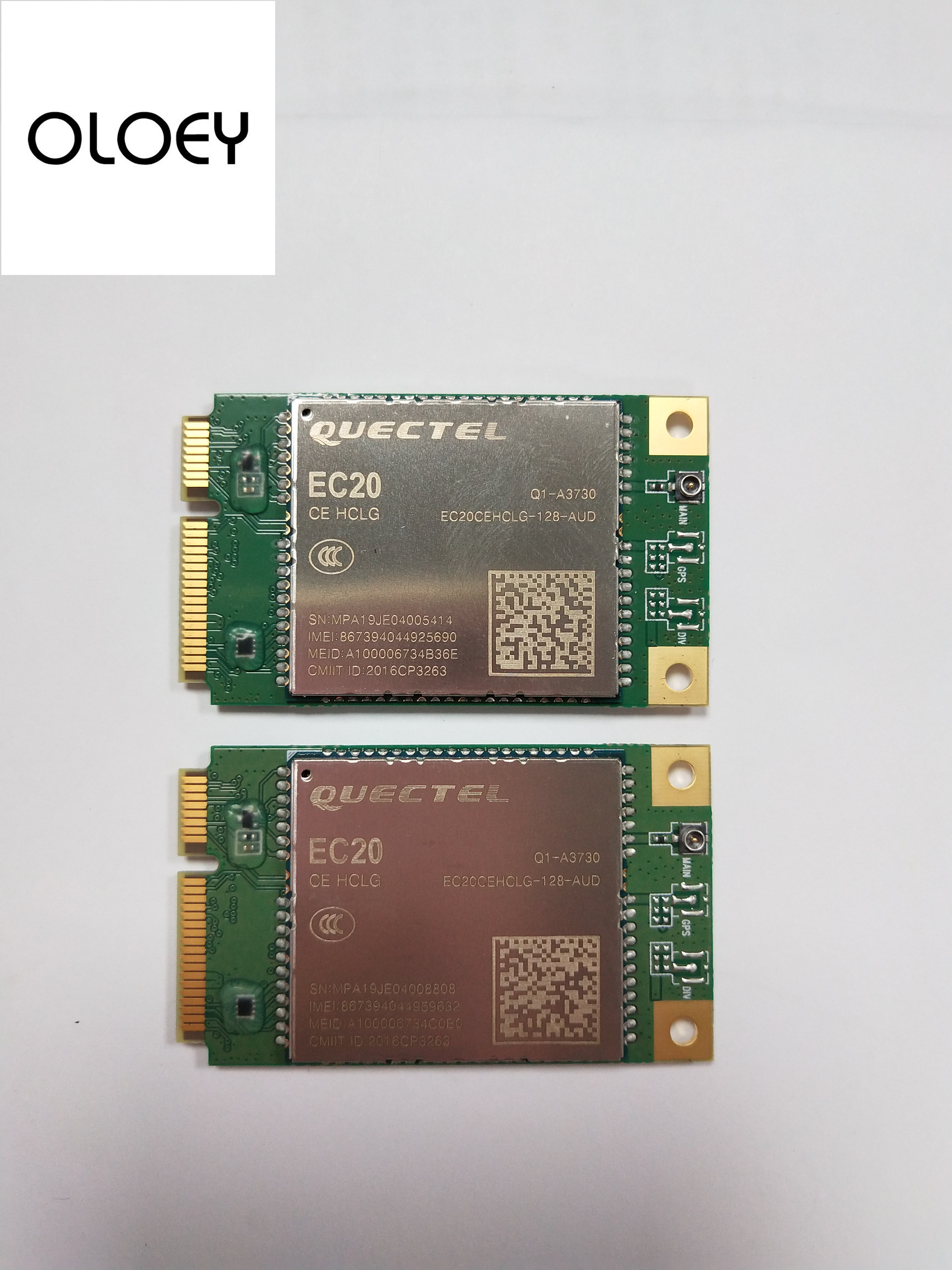 EC20CEHCLG MINIPCIE  LTE MODULE, With Card Slot, 100% Brand New Original