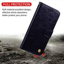 Padrão de óleo couro caso da aleta para samsung j2 núcleo j4 j6 plus j8 2018 j1 mini j3 j5 j7 pro 2017 slots de cartão carteira suporte saco capa