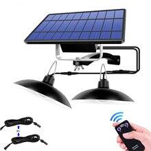 Подвесной светильник на солнечной батарее наружный комнатный