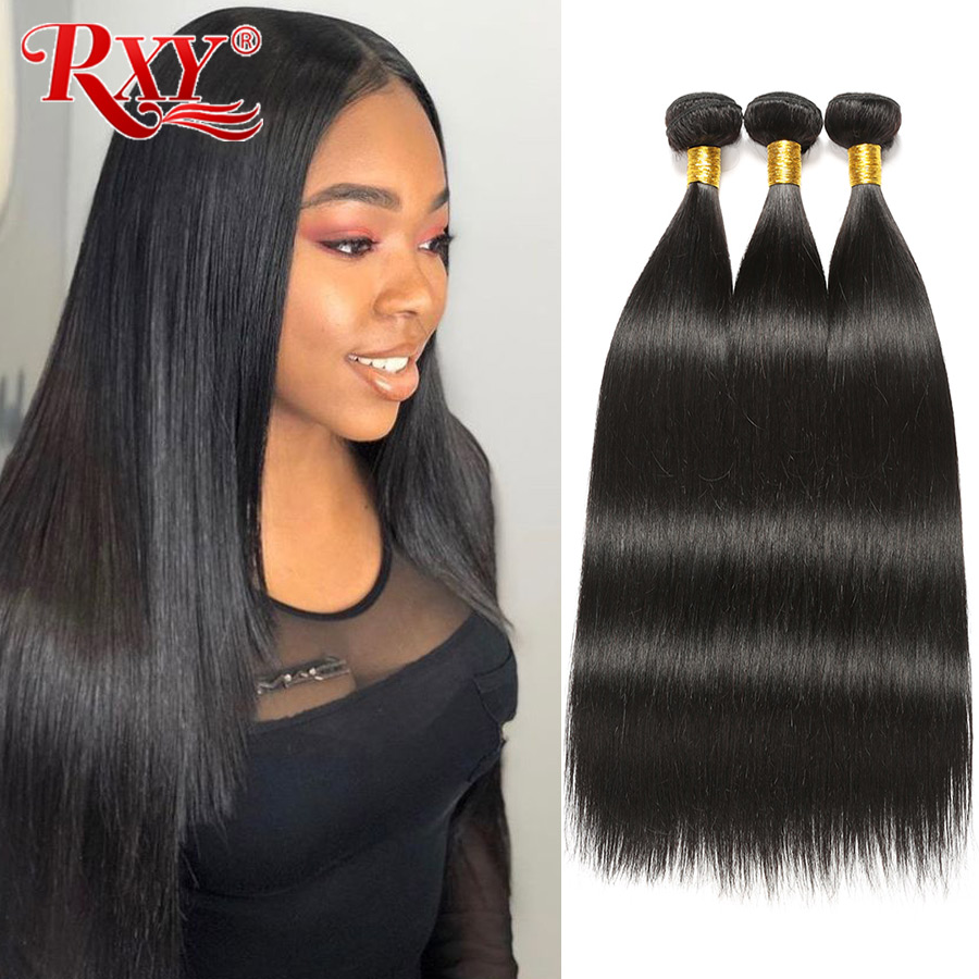 Brazilian Hair Weave Bundles RXY Straight Hair Bundles 100% Remy Human Hair Extension 8