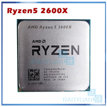 Amd Ryzen 5 2600X R5 2600X 3.6 Ghz Zes-Core Twaalf-Draad 95W Cpu Processor YD260XBCM6IAF Socket AM4