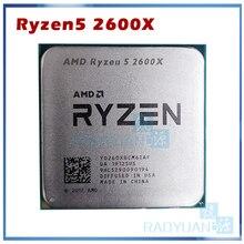 Amd ryzen 5 2600X R5 2600X 3.6 ghz 6 コアtwelveスレッド 95 ワットのcpuプロセッサYD260XBCM6IAFソケットAM4