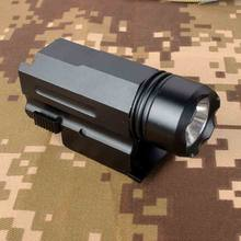 Airsoft Mini Pistol Light QD Quick Detach Pistool Zaklamp LED Rifle Gun Torch voor 20mm Rail Glock 17 19 18C 24 US VOORRAAD(China)