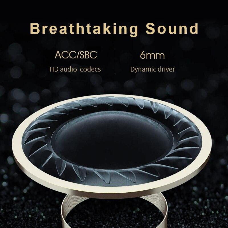 QCY T1C жаңа Bluetooth V5.0 сымсыз құлаққаптары - Портативті аудио және бейне - фото 4
