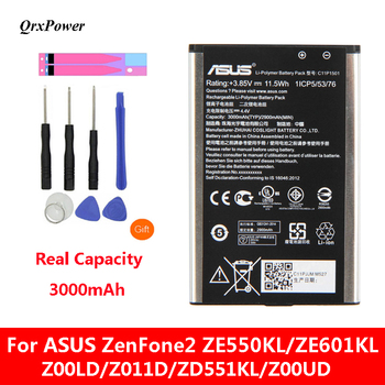 QrxPower Battery For ASUS ZenFone2 Laser 5.5
