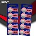 10 шт. Sony оригинальная 100% CR1632 Кнопочная батарея для часов автомобильный пульт дистанционного управления cr 1632 ECR1632 GPCR1632 3v литиевая батарея