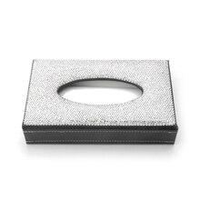 Paper-Box Napkin-Holder Diamond-Tissue-Box Car-Decor Car-Interior-Accessories Crystal