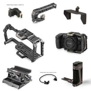 Tilta BMPCC 4K 6K Cage Full Cage Half cage SSD Drive Holder Top Handle Baseplate Sunhood for BlackMagic BMPCC 4K 6K Accessories