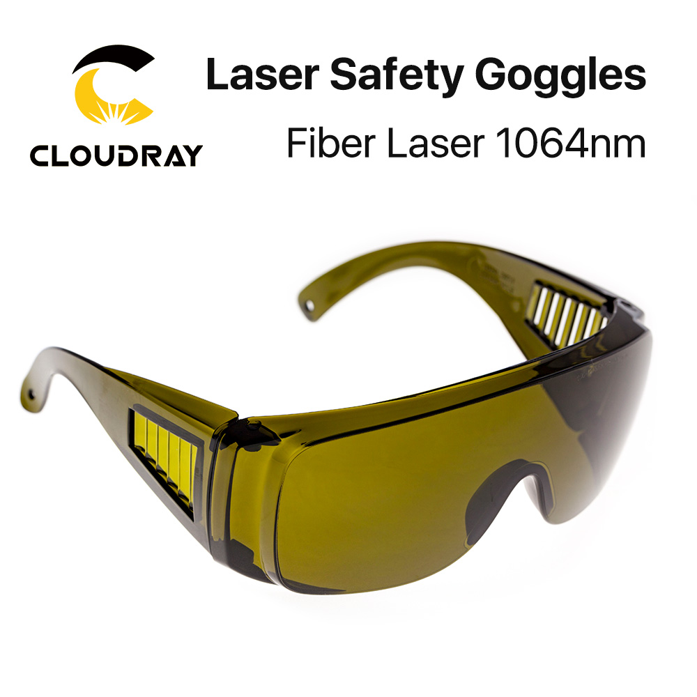 Cloudray 1064nm Protective Goggles Style B Laser Safety Goggles 850-1300nm OD4+ CE For Fiber Laser