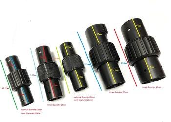 Pinza de tubo de carbono 25mm 30mm 40mm brazo redondo Folio aleación...