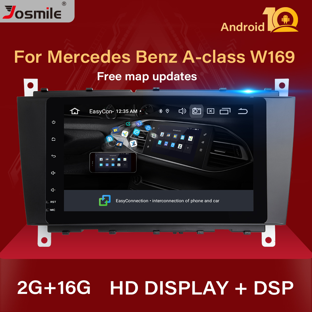 2 Din Android 10 Car Radio GPS Multimedia For <font><b>Mercedes</b></font>/Benz W203 W209 W219 sprintA-C-Class CLS C180 C200 CLK200Vito Viano Audio image