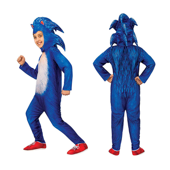 Sonic The Hedgehog Costume for Kids Cosplay Sonic Backpack Clothes Halloween Costume for Kids Carnival Dress Up 2020 new kids carnival clothing girl halloween mermaid cosplay dresses summer swimming clothes model costume