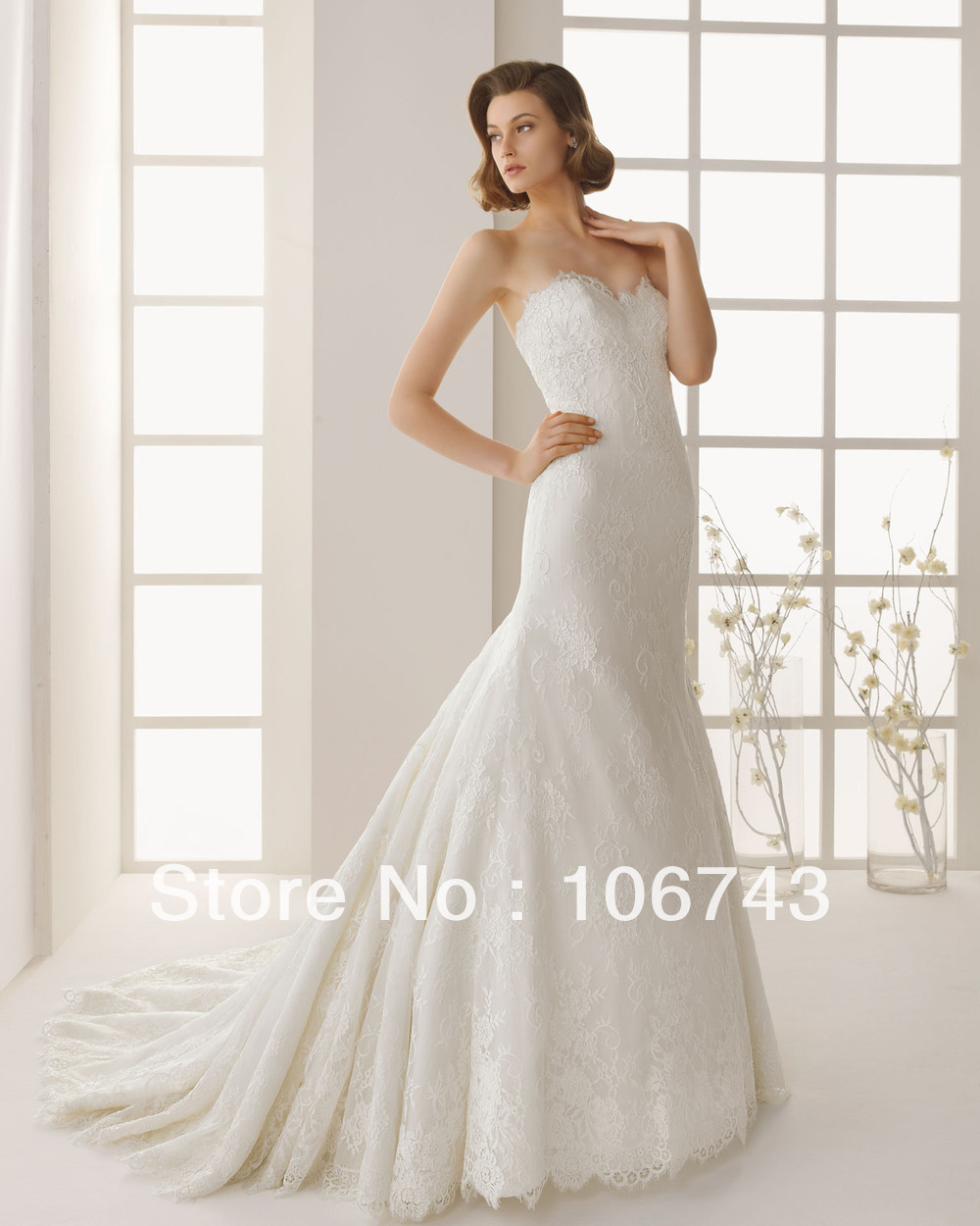 Free Shipping 2018 New Style Hot Sale Sexy Bride Sweet Princess Lace With Jacket Custom Size Bridal Bridesmaid Dress