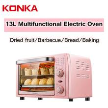 KONKA Electric Oven 13L Multifunctional Mini Oven Frying Pan Baking Machine Household Pizza Maker Fruit Barbecue Toaster Oven