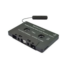 Image 3 - Новейшая модель; Беспроводной iTape CSR V4.0 + EDR Bluetooth адаптер кассеты работать во время зарядки стерео аудио приемник для автомобиля проигрыватель колоды