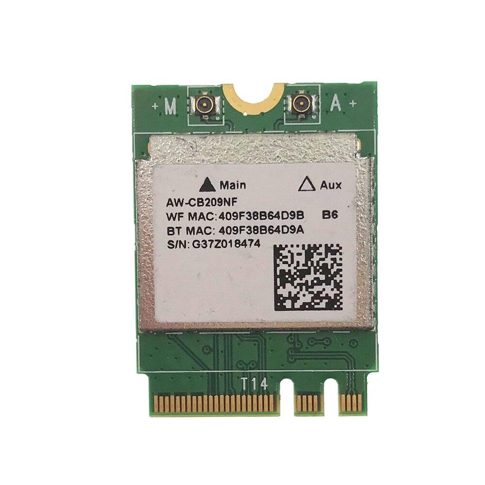 Для Toshiba Satellite E45W-C4210 G86C00078111 AW-CB209NF Realtek RTL8821AE 802.11ac + BT 4,0 NGFF card
